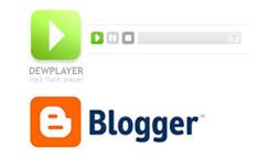google bloggerにmp3を貼りつける