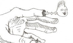 ボールペンで1分で描いた落書き集