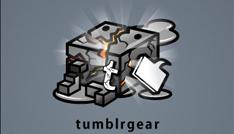 iPhone無料アプリ「tumblr gear」がイカス