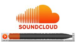 ブログに自作曲mp3を貼りつける – SoundCloudを利用