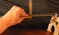 ウッドベース(コントラバス)の弦高を調整した結果