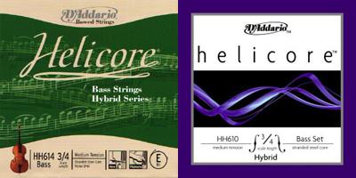 ウッドベースの弦 ダダリオヘリコア
