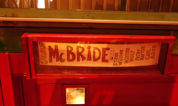 Christian McBrideのライブ@ニューヨークのVillage Vanguard