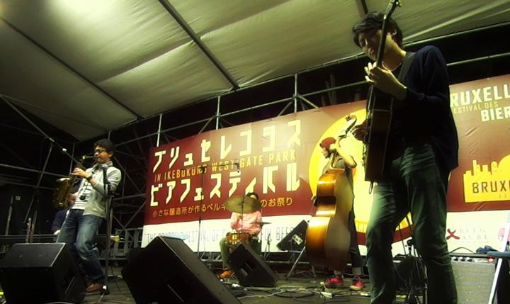 ブリュセレンシスビアフェスティバル2015で演奏してきました
