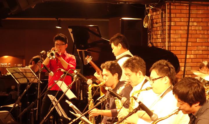 ダブルフォースジャズオーケストラとT.E.O.対バン見に行った@赤坂B♭
