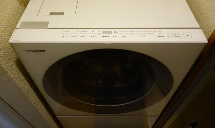 ドラム式洗濯機Cuble NA-VG710を買ったった(マンション4階、エレベーター無し)