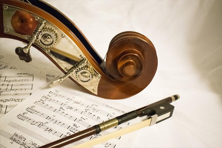 オーケストラ楽器の音域一覧(コントラバス奏者視点による)