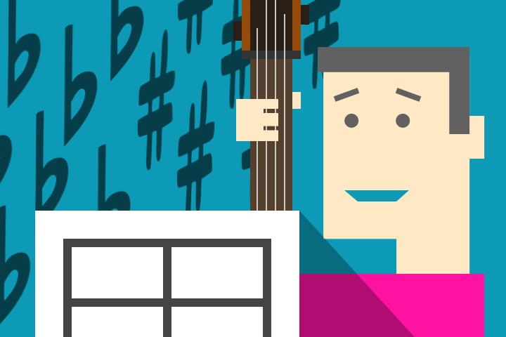 自分向け、譜面の調号とキーの覚え方 – チャーチモードから調号を解釈する