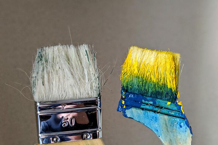 家具のペンキ塗り初心者が体を張って覚えたTIPSたち(100均ネタ多め)