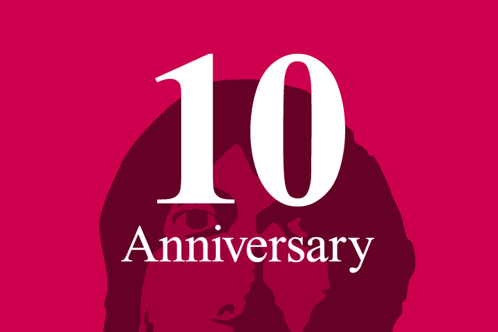 当サイトが10周年を迎えましたので、セルフお祝いをする
